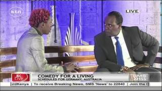 Jeff Koinange Live 23rd July 2015 [Part 1] - with Eric Omondi, the Comedian