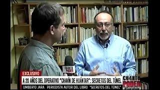 Cuarto Poder: Umberto Jara presenta Los secretos del túnel