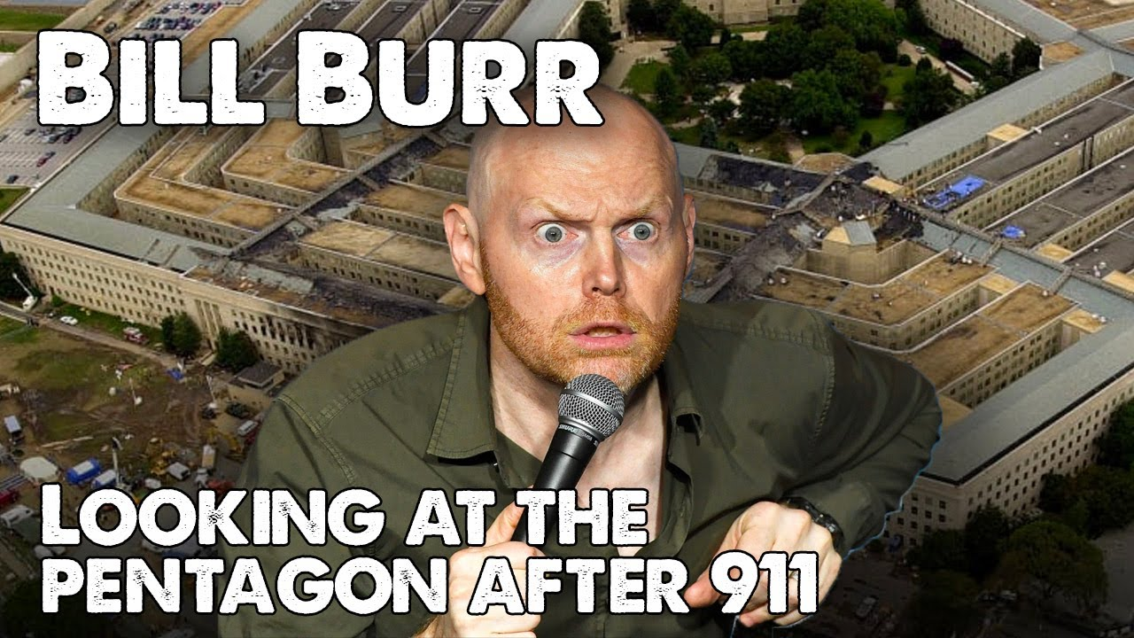 Bill Burr - Hilarious story about visiting the Pentagon ...