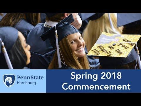 Penn State Harrisburg Spring 2018 Commencement