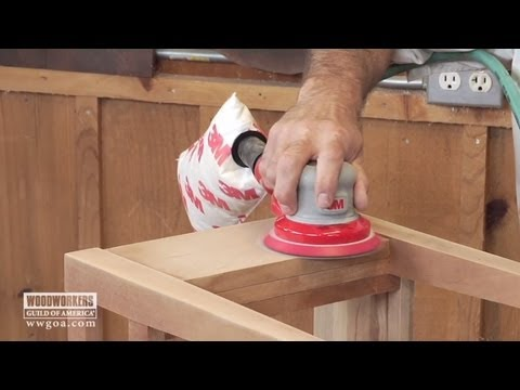 Woodworking Tips - Sanding Dust Collection & Quality of Work - YouTube