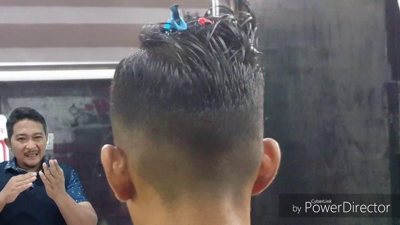 tutorial 4 cara asas teknik gunting rambut hi cut - YouTube e299769295