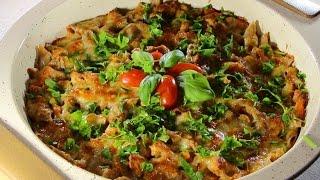 Макарони с пиле по неаполитански