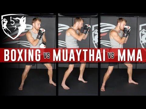 MMA vs Boxing vs Kickboxing: 5 Technical Differences