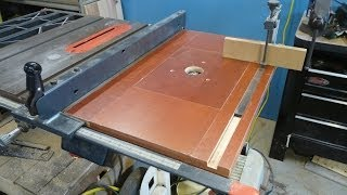 Router Table Part 1 Of 3