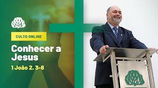 IPB Joinville - Culto - 20/09/2020 - Conhecer a Jesus