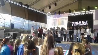 Евгений Кузин (реалити шоу дом-2) приехал поздравить Клин с днём города!