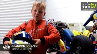 Meet TKC's Junior Drivers - Brandon Boland