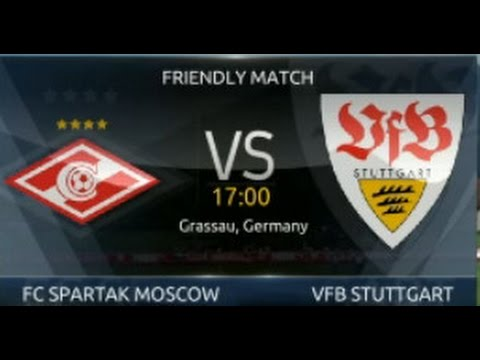 LIVE | VfB Stuttgart Vs Spartak Moscow Interrupted | Club Friendly | 22/07/2016
