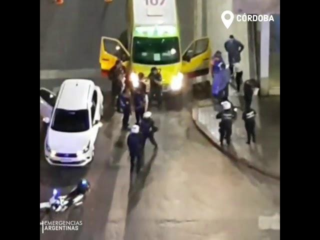Nuevo video del momento en detienen el auto donde iba Valentino Blas Correas