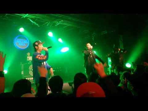 160311 넉살 작은것들의신 쇼케이스 HOOD(Feat. 차붐, 화지)