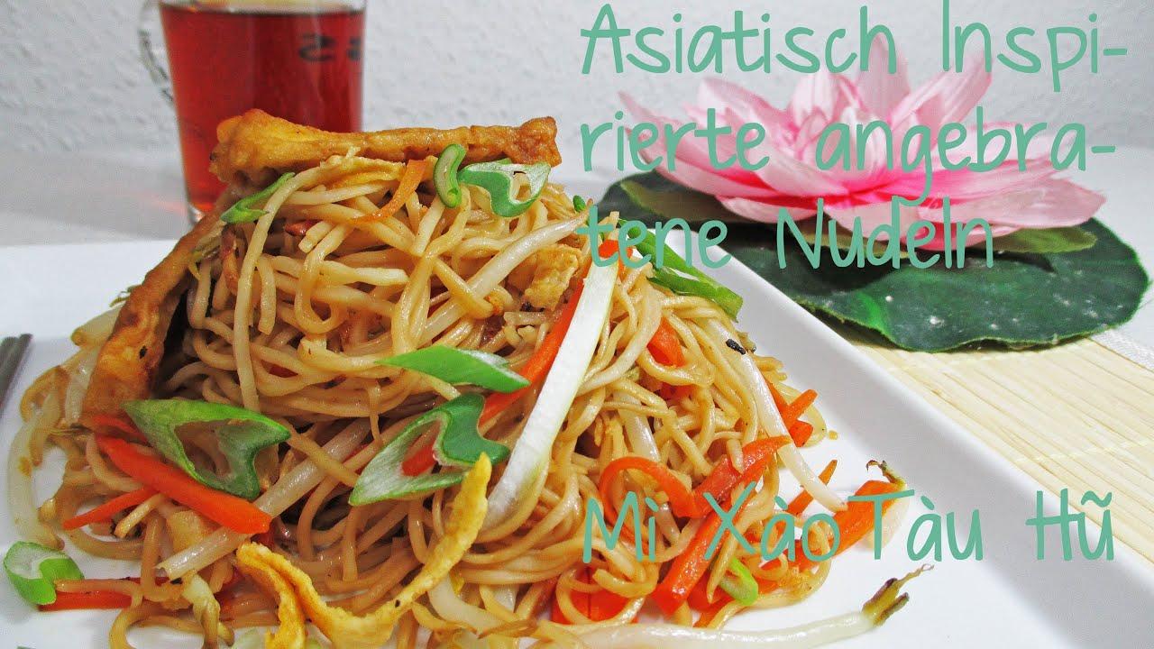Rezept Für Vegane/ Vegetarische Asiatische Fast Food Nudeln - YouTube