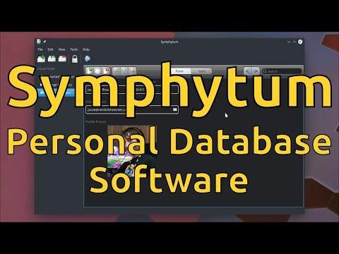 Symphytum - Personal Database Software
