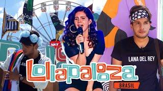 VLOG - MEU PRIMEIRO LOLLAPALOOZA BRASIL (2018) #ShowDaLanaDelRey