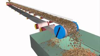Flat mining conveyor belt