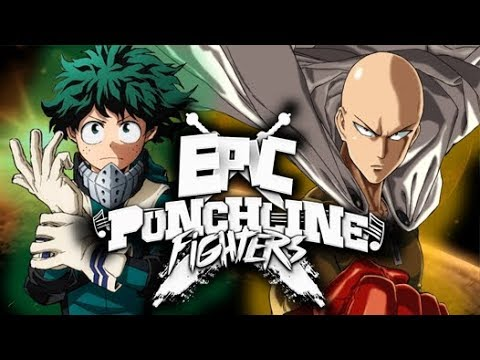 Saitama VS Izuku Midoriya - Epic Punchline Fighters [EPF 10]