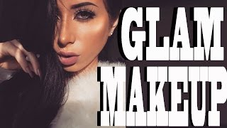 MY EVERYDAY GLAM MAKEUP TUTORIAL