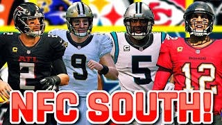 WINNING A GAME WITH ALL 32 TEAMS #4 - NFC South