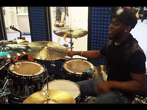NAMM 2015 - Shariq Tucker Drum Solo - GoPro Booth