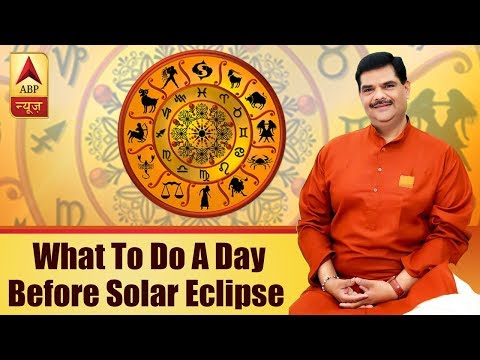GuruJi With Pawan Sinha: What To Do A Day Before Solar Eclipse
