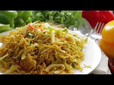 MAGGI DRY NOODLES | Restaurant Style Noodles With Maggi Noodles| Best Chinese Style Noodles