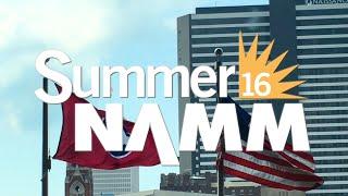 Roland/BOSS 2016 Summer NAMM Show Highlight Reel