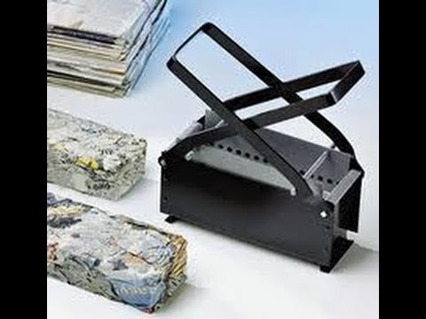 Newspaper Brick Maker Review