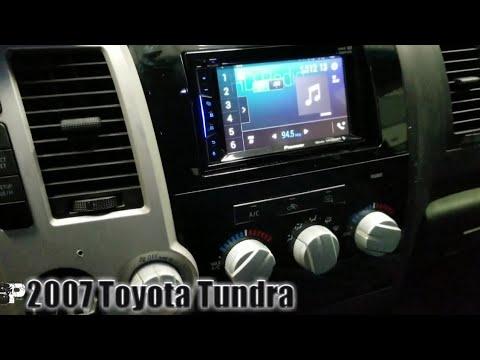 2007 Toyota Tundra Radio Removal
