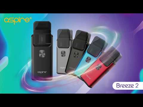 Aspire Breeze 2 AIO Kit Review and Tutorial   Aspirecig