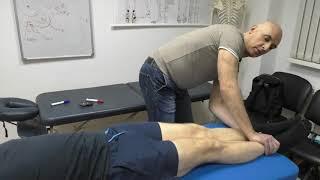 Лечение мышечных цепей.  Кинезиомассаж
