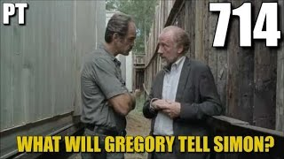 The Walking Dead Season 7 Episode 14 Discussion Will Gregory Snitch On The Group? TWD 714