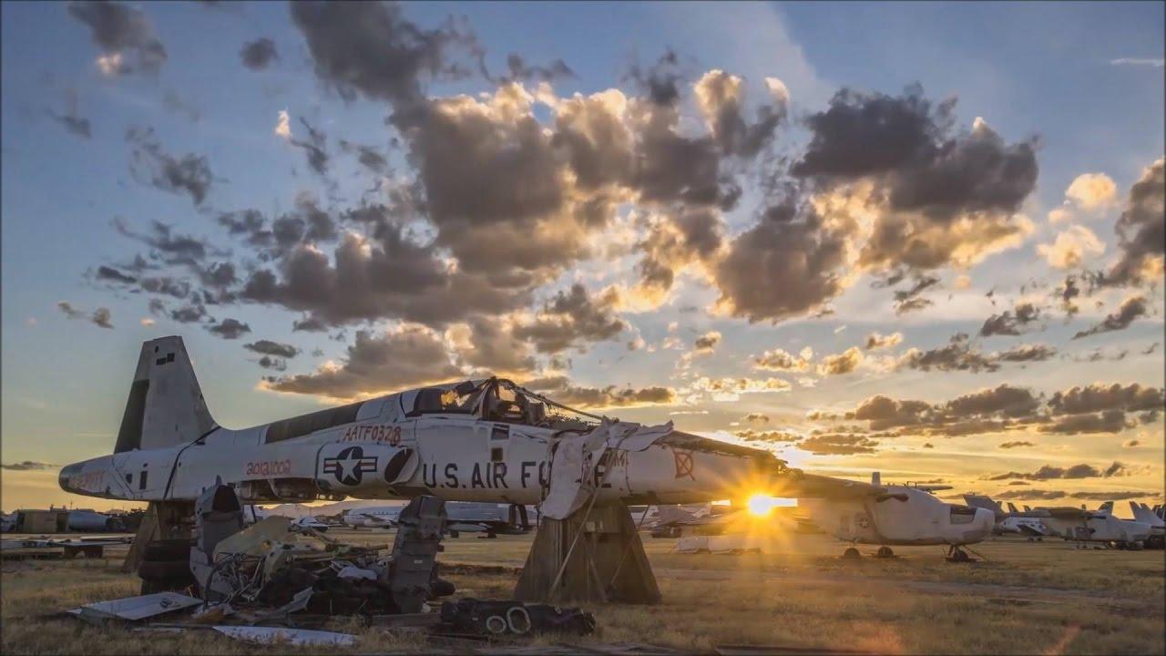 """Cimetiere Avion Usa cimetière d'avion """" envoûtant """" : sublimer par l'environnement"""