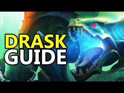 ♥ Dauntless - Soloing Drask Sword Guide / Tutorial / Tips & Tricks