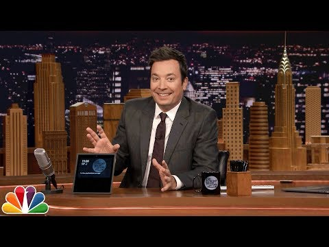 Jimmy Gives the Tonight Show Audience an Amazon Echo Show Surprise