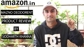 Deodorant Body Spray || Review By SIDDHARTH KHANNA Review - 22