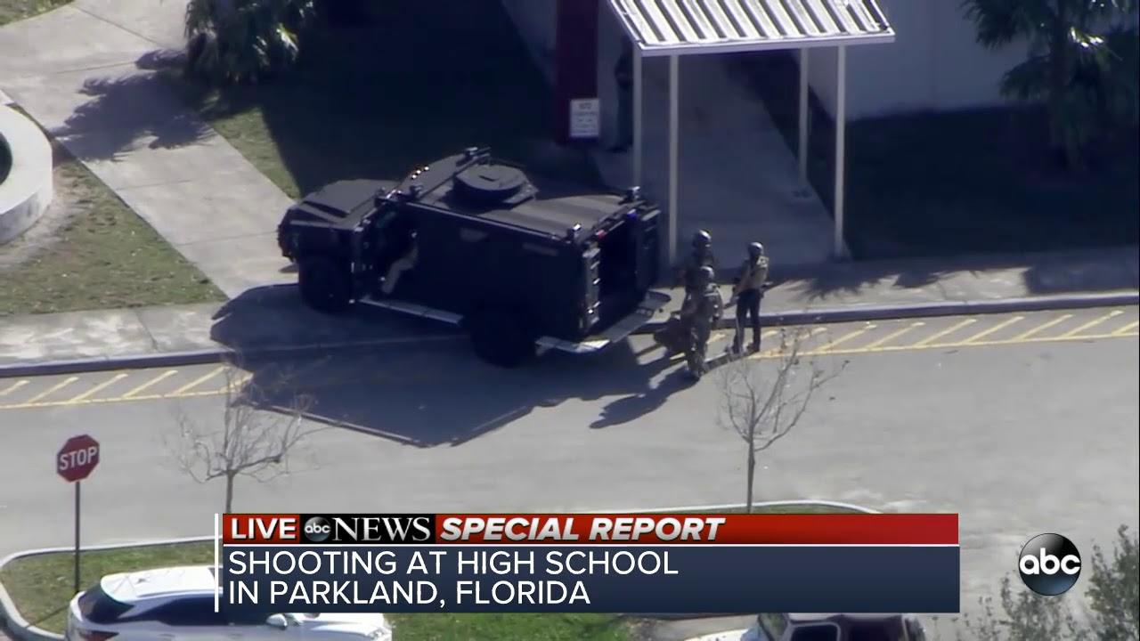 Suspect in Florida high school shooting in custody