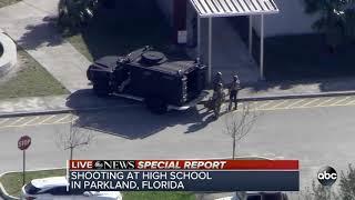 Suspect in Florida high school shooting in custody
