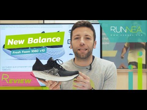 New Balance Fresh Foam 1080 v10 Review: Tope amortiguación para unas zapatillas de gran respuesta