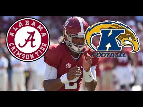 Alabama vs. Kent State Highlights (2016)