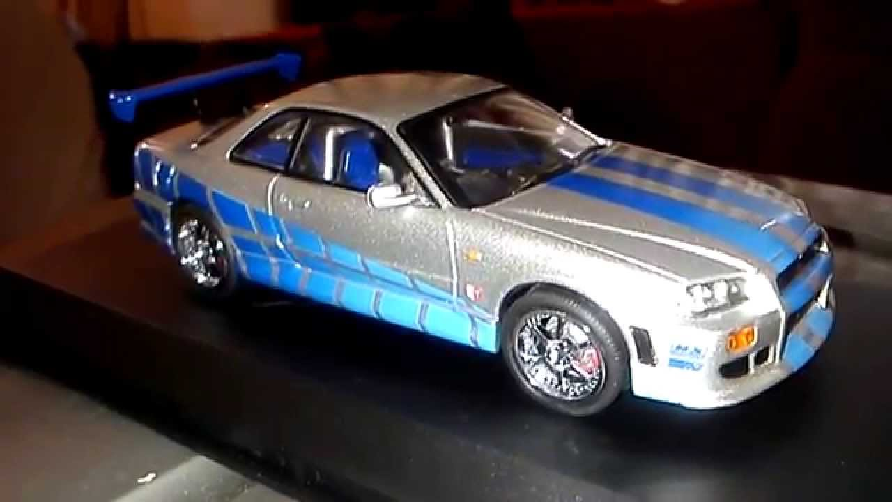 Fast And Furious 4 Skyline >> NISSAN Skyline GT-R Rápido y Furioso a escala 1/43 - YouTube