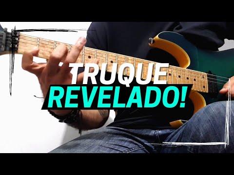 Os Grandes Guitarristas tocam muito ARPEJOS TÉTRADES assim!!!