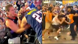 CAUGHT ON CAMERA: Suns and Clipper fans brawl