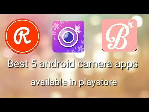 Top 5 Android Camera Apps || Available In Playstore || Junkies Boy.