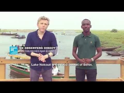 فرانس 24:BENIN: CAN DRONES SAVE A LAKE?