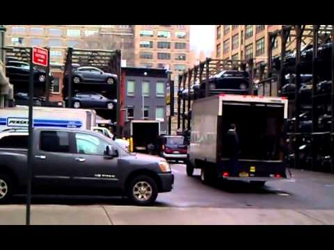 A New York City Parking Garage