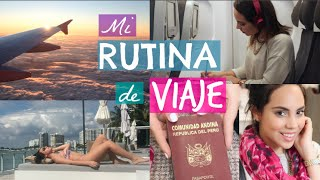 Mi RUTINA de VIAJE | What The Chic