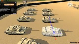 Military Scenario Simulation with OneRay-RT