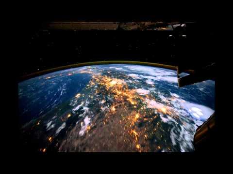 World at Night - Globe View ISS
