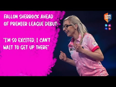 Fallon Sherrock relishing Premier League Darts debut in Nottingham