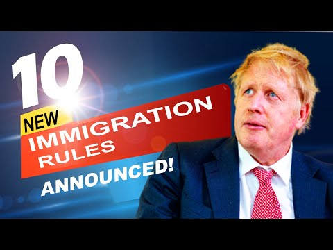 10 NEW IMMIGRATION RULES ANNOUNCED ON 22 OCTBER, 2020